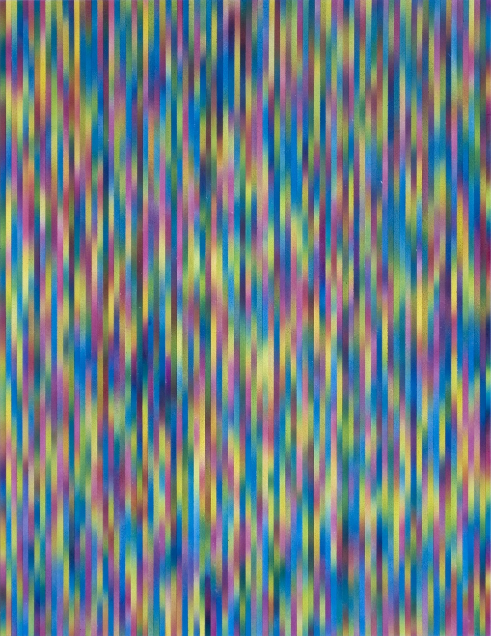 An image of multi-colored static pattern.
